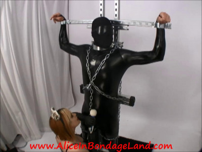 Agent Smith Interrogation – Rigid Metal Bondage Super Villain