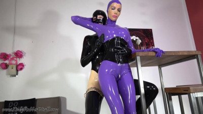 Description Rubberdate with Slavegirl Nadira - Full HD 1080p