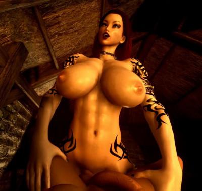 Giantess Futa Dickgirl