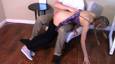 Severe Domestic Discipline Spanking — Scene 1 - Full HD 1080p
