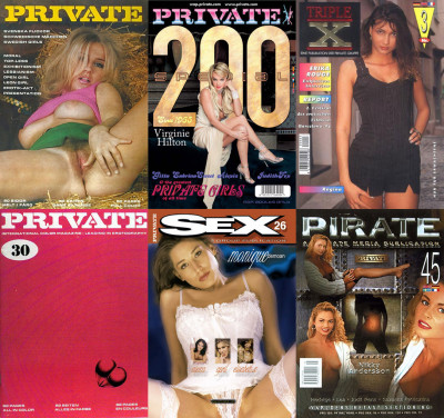 Magazines Private, Pirate, Sex, Triple X (1965-2009, 510 releases, PDF) + Bonus Photo