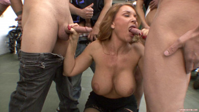 Description Janet Mason Uses A Straw To Gobble Down Hot Loads Of Cum!