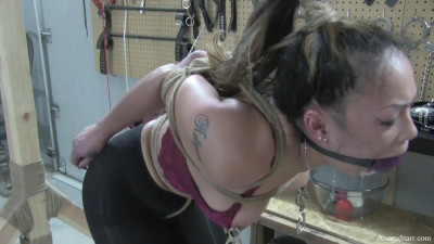Clover Clamps and a Big Ball Gag part 3 – Easy is Not In Our Vocabulary – Full HD 1080p