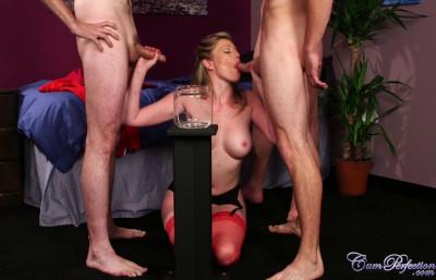 Description Holly Kiss Cum Bucket Challenge