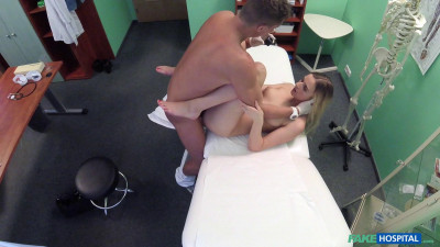 Katy Pearl - Sexual Surprise In Patients Pussy