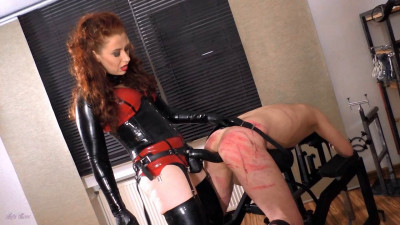 Mistress Lady Renee Bench Fucked Bitch