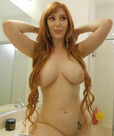 Busty Redhead Lauren Phillips Totally Raw FullHD 1080p