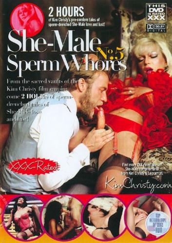 She-Male Sperm Whores Vol. 5