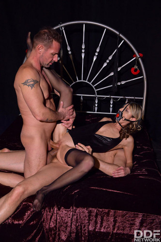 Gina Gerson – Ball Gagged & DP'd