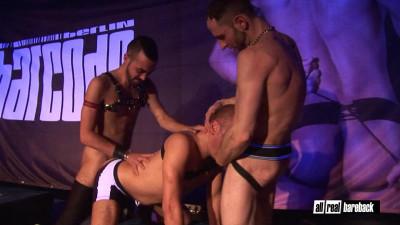Fostter Riviera,Joe Bexter,Ken Taylor Live Stage Sex