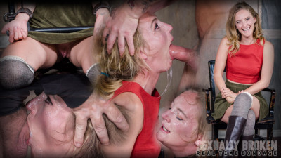 The warm up, bound down in hard metal and face fucked into subspace!