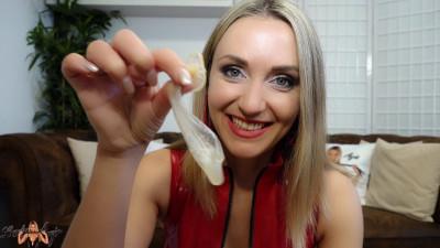 Lady Anja Cuckold-Aufgabe Schluck Sperma meines Lovers
