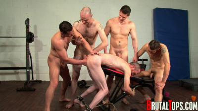 Brutal gays explore submissive mens #1