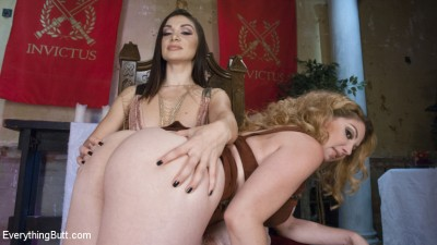 Lea Lexis trains her Anal Slave to be the perfect Anal concubine