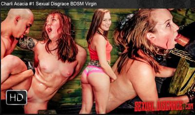 Sexualdisgrace – Dec 31, 2015 – Charli Acacia 1 Sexual Disgrace BDSM Virgin