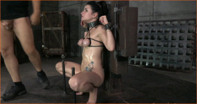 Pretty Pale Veruca James Gets Shackled And Throatboarded