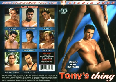 Tonys Thing — Tony DiAngelo, Tyler Scott, Greg Ross