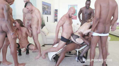 Hot Sluts In Hot DP Orgy