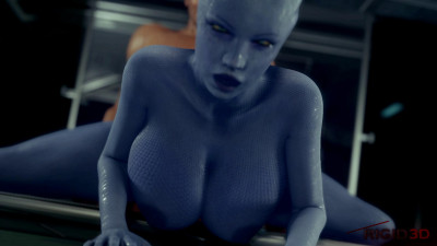 Blue Liara's Lust - Full HD 1080p