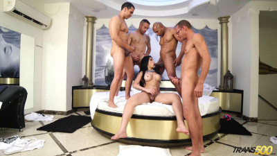 Bruna's First Gangbang