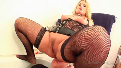 Humiliation Verbal - Flower Tucci and Deviant David - HD 720p
