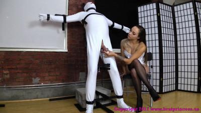 Slave Gets A Quick Release In Tight Bondage - Sasha Foxxx