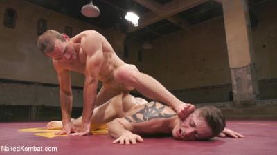 Naked Kombat - Tyler Rush Takes On Hunk Jonah Marx