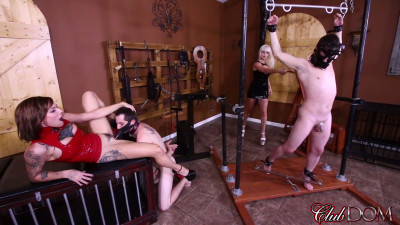 CD - Dahlia Rain & Harlow Harrison - How Sadists Get Off - dildo, horny, slave, lucky
