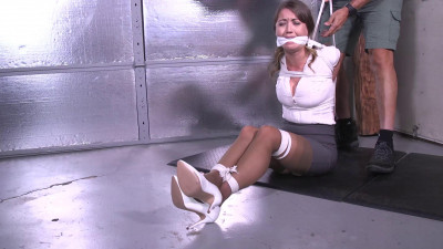 Chrissy Marie -Tied Up, Gagged And Panty Hooded
