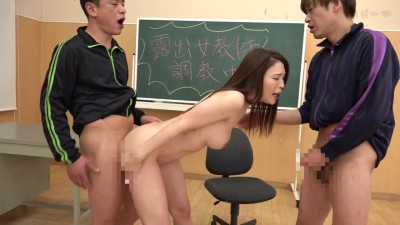A Crazy Exhibitionist Female Teacher