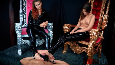Description Domina Planet Triple Foot Gag