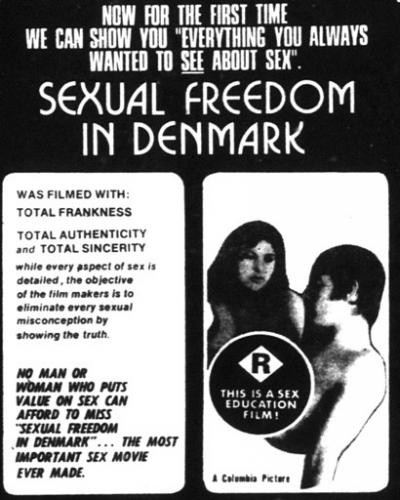 Description Sexual Freedom in Denmark