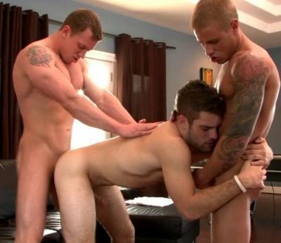 Hat Trick — Adam Wirthmore, Brody Wilder and Adam Hardy