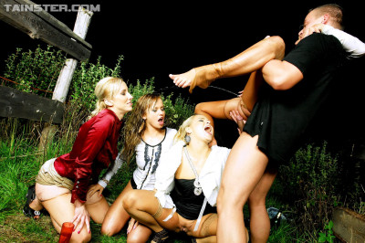 Description Playful Hot Ladies Get Fucked And Golden Showered With Pride