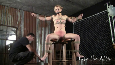 Super bondage, spanking and torture for sexy naked blonde part2 HD 1080p