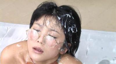 Chinese girl in semen