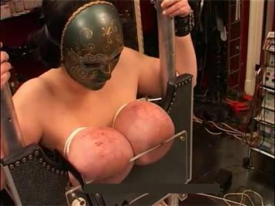 Hard huge tits torture nipples (2014)