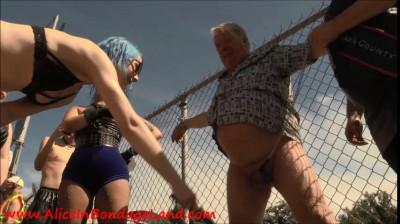 Extreme FemDom Castration And Ballbusting At Folsom Street Fair