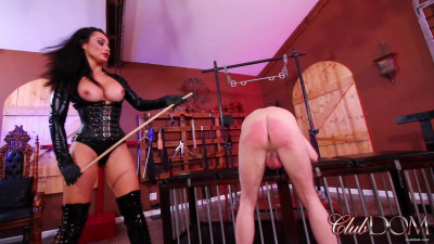 ClubDom - Submit To Mistress Crystal's Cane