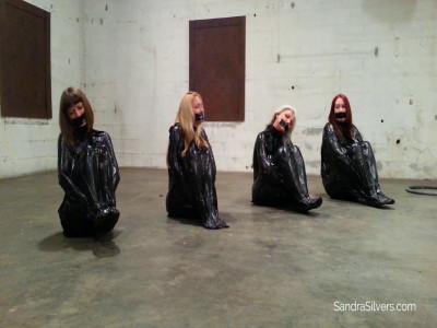Sandra Silvers, Ruth Cassidy, AJ Marion, Lisa Harlotte