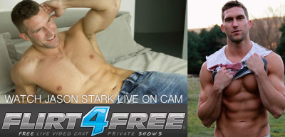 Flirt4Free - Jason Stark - Dildo and cum