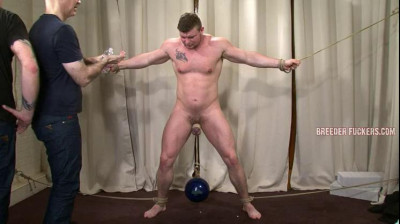 Brad – Tricked into getting erect, genitals bound and weighted