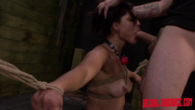 First Rope Bondage Slave Training Session — Valentina Endures — Full HD 1080p