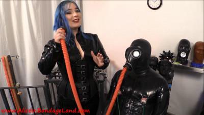 Serious Bondage Hazmat Gear - Layered Rubber Threesome Pt 1