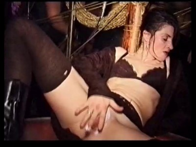 Masturbating in the club, in the toilet