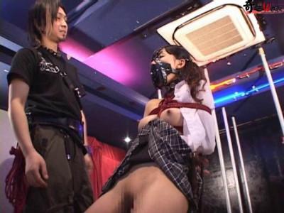 Extreme Live Bondage show, hard tied humlation beauty japan girl. Enjoy!