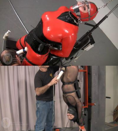 Tight bondage, torture and strappado for hot sexy slavegirl part 1