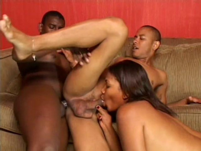 Latina Plumper Fucked By Two Hot Bi Guys