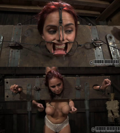 Hard bondage, torture and domination for sexy naked bitch