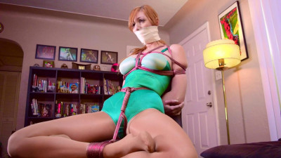 Lauren Phillips.. Green Girdle Bound